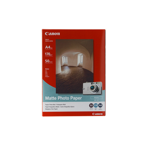 Canon Matte Photo Paper A4 50 Sheets 170gsm