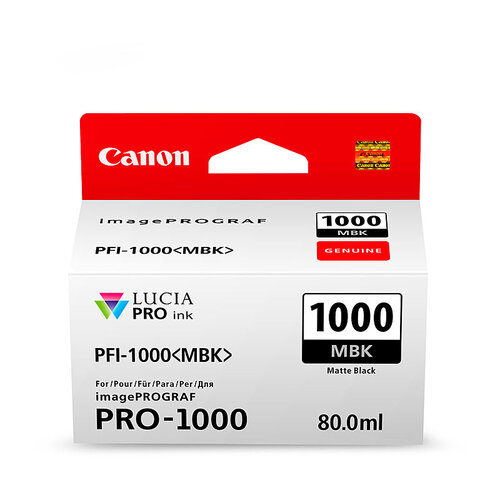 Canon PFI1000 Matt Black Ink Cartridge