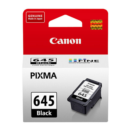 Canon PG645 Black Ink Cartridge - 180 pages