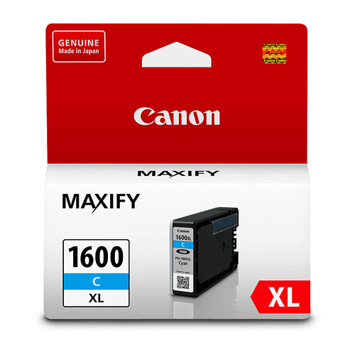 Canon PGI1600XL Cyan Ink Tank - 900 pages