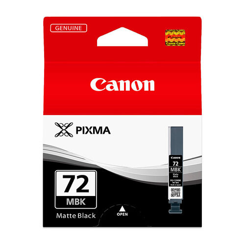 Canon PGI72 Matt Black Ink Cartridge - 202 pages A3+