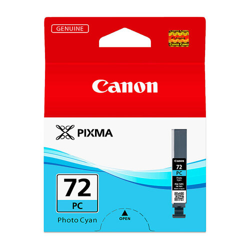 Canon PGI72 Photo Cyan Ink Cartridge - 89 pages A3+