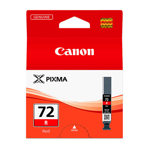 Canon PGI72 Red Ink Cartridge - 144 pages A3+