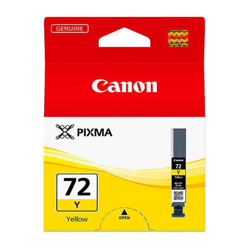 Canon PGI72 Yellow Ink Cartridge - 85 pages A3+