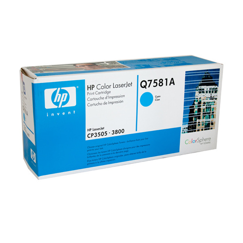 HP #503A Cyan Toner Cartridge - 6000 pages
