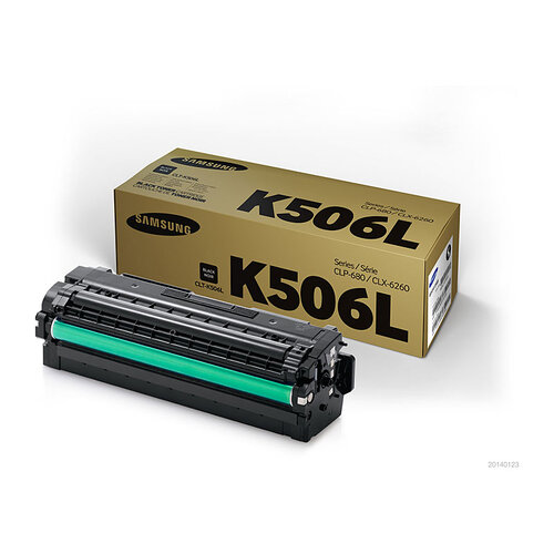 Samsung CLP680 / CLX6260 Black Toner Cartridge - 6000 pages