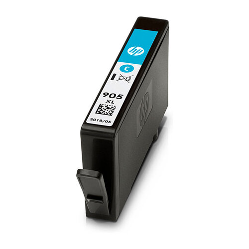HP #905XL Cyan Ink Cartridge - 825 pages