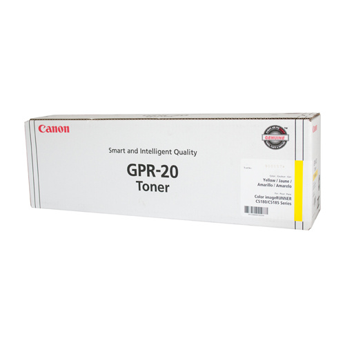 Canon (GPR-20) IRC-5180 / 5185 Yellow Copier Toner - 36,000 pages