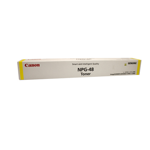 Canon (GPR-33) TG48 Yellow Copier Toner - 52000 pages