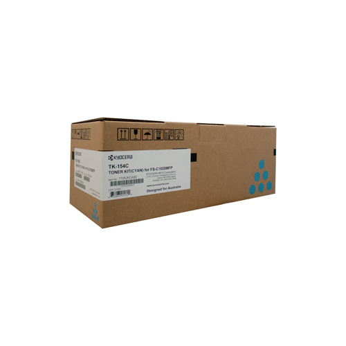 Kyocera FS-C1020MFP Cyan Toner Cartridge - 6,000 pages