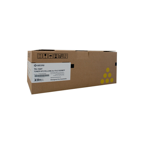 Kyocera FS-C1020MFP Yellow Toner Cartridge - 6000 pages
