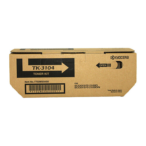 Kyocera TK3104 Toner Kit FS-2100DN / FS-2100D - 12500 pages