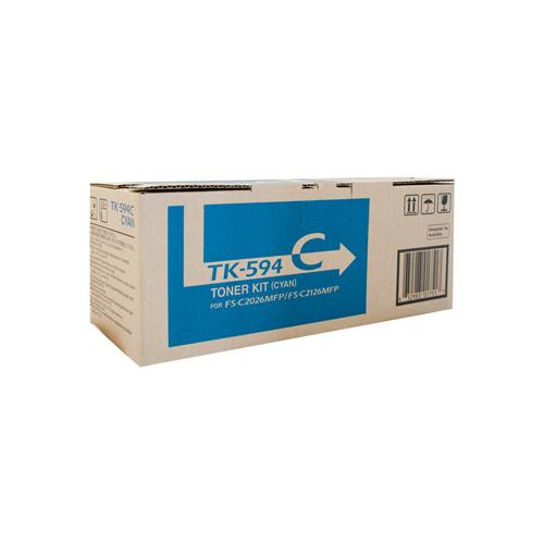Kyocera Fs C2126mfp 2026mfp Cyan Toner Cartridge 5 000