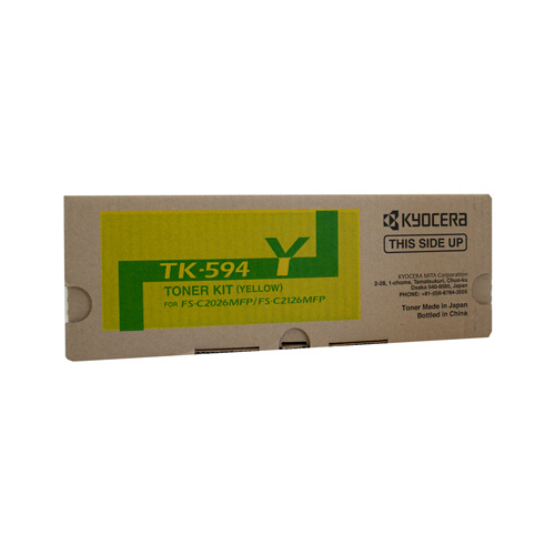 Kyocera FS-C2126MFP / 2026MFP Yellow Toner Cartridge - 5000 pages