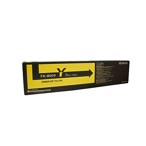 Kyocera TK8509Y Yellow Toner Cartridge - 30000 pages