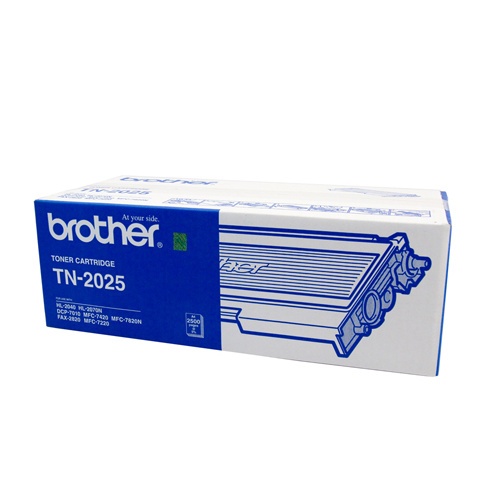 Brother TN-2025 Toner Cartridge - 2500 pages