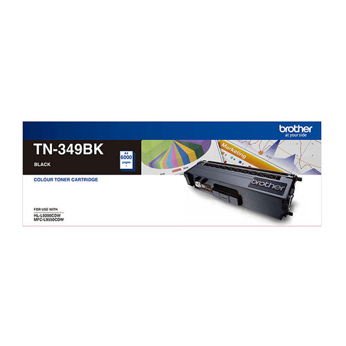 Brother TN-349 Black Toner Cartridge - 6000 pages