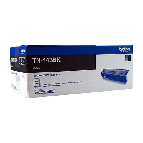 Brother TN443 Black Toner Cartridge - 4500 pages