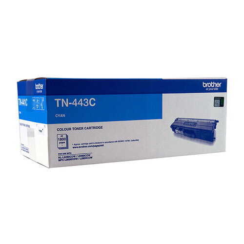 Brother TN443 Cyan Toner Cartridge - 4000 pages