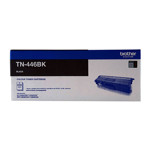 Brother TN446 Black Toner Cartridge - 6500 pages
