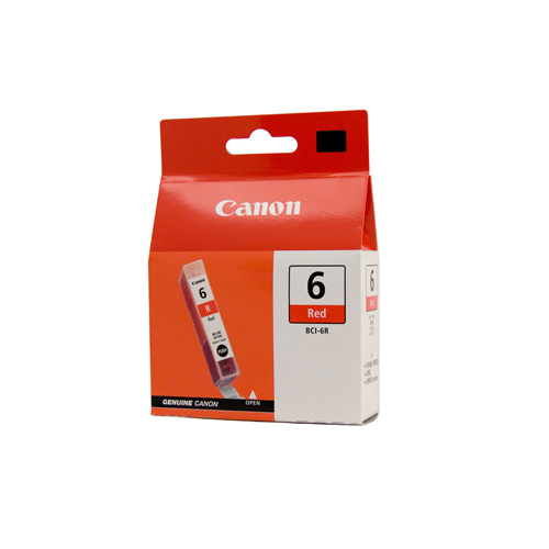 Canon BCI-6R Red Ink Tank - 100 pages