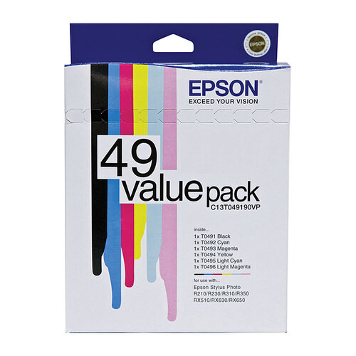 Epson T049X Ink Value Pack