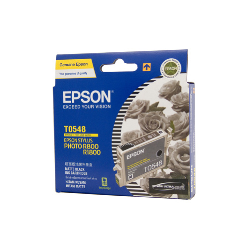 Epson T0548 Matte Black Ink Cartridge - 550 pages