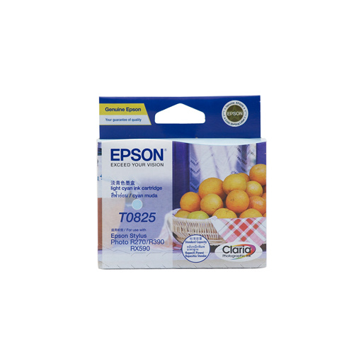 Epson T1125 (82N) Light Cyan Ink Cartridge (replaces T0825) - 510 pages