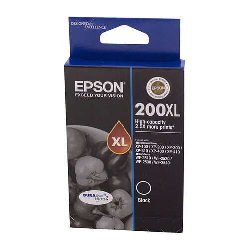Epson 200 HY Black Ink Cartridge - 500 pages
