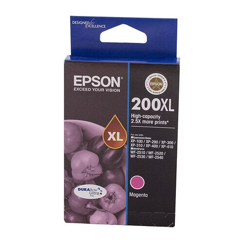 Epson 200 HY Magenta Ink Cartridge - 450 pages