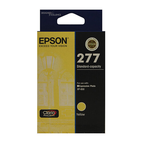 Epson 277 Yellow Ink Cartridge - 360 pages