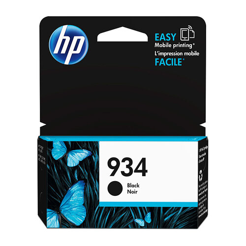 HP #934 Black Ink C2P19AA - 400 pages