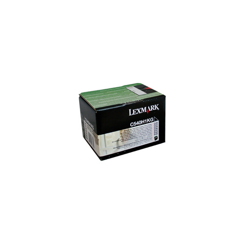 Lexmark C540 / 543 / X543 / C544 / X544 Black HY Prebate Toner Cartridge - 2500 pages