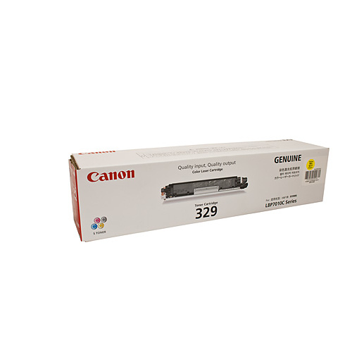Canon CART329 Yellow Toner Cartridge - 1000 pages