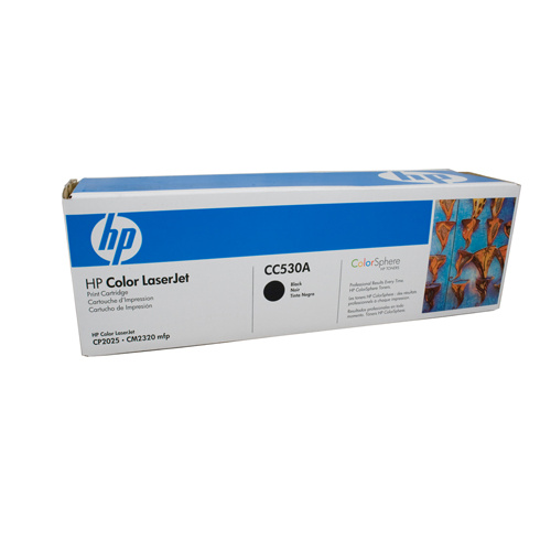 HP #304A Black Toner Cartridge - 3500 pages