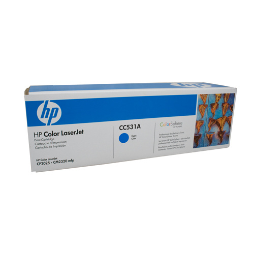 HP #304A Cyan Toner Cartridge - 2800 pages