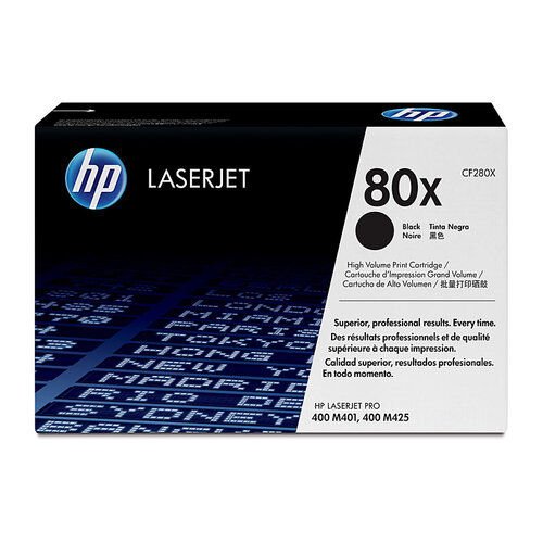 HP # 80X Black Toner Cartridge - 6900 pages