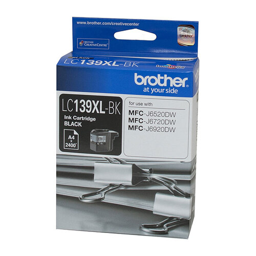 Brother LC-139XL Black Ink Cartridge