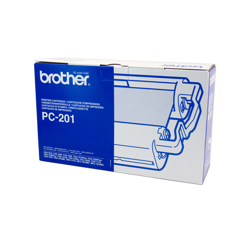Brother PC-201 Print Cartridge + 1 roll - 450 pages