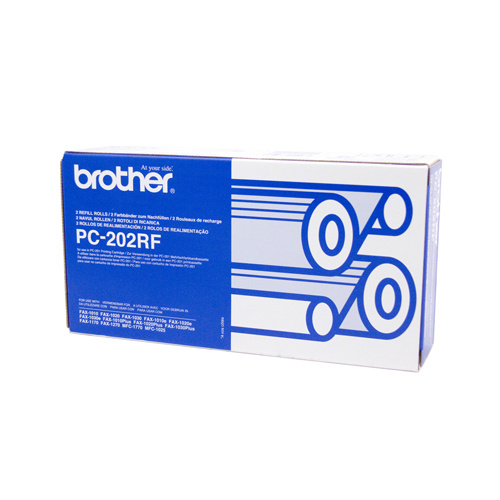 Brother PC-202 Print refill rolls x 2 - 420 pages