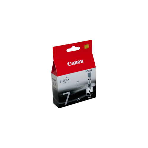 Canon PGI-7BK Black Ink Cartridge - 565 pages