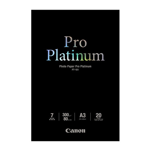 Canon Photo Paper Pro Platinum  A3+  10 Sheets - 300gsm