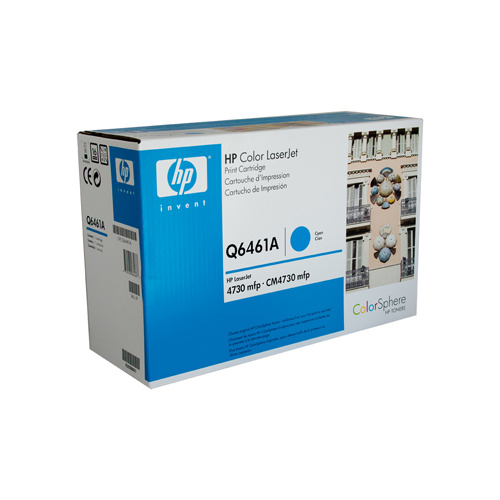 HP #644A Cyan Toner Cartridge - 12000 pages