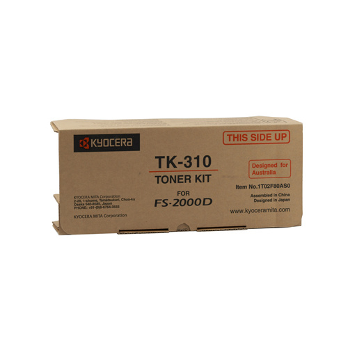 Kyocera FS-2000D / 3900DN / 4000DN Toner Cartridge - 12000 pages @ 5%