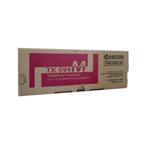 Kyocera FS-C2126MFP / 2026MFP Magenta Toner Cartridge - 5000 pages