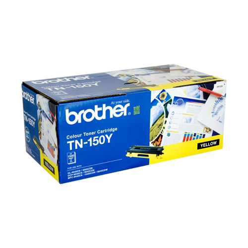 Brother TN150 YellowToner Cartridge - 1500 pages