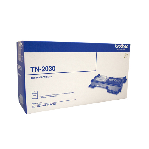 Brother TN-2030 Toner Cartridge - 1000 pages