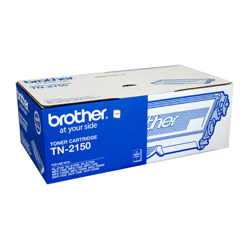 Brother TN-2150 Toner Cartridge - 2600 pages